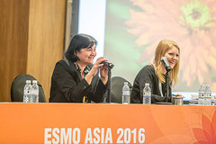 Women for Oncology Session at ESMO Asia 2016 Singapore