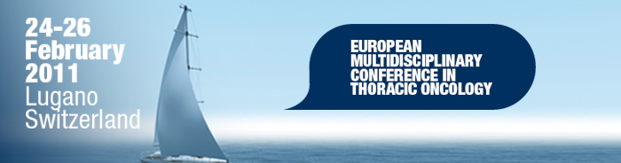 European multidisciplinary conference thoracic oncology 2011 resources