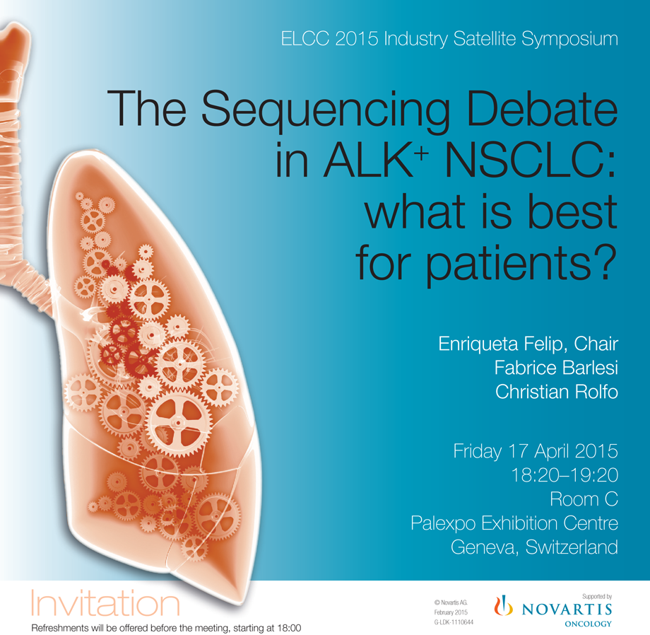 The Sequencing Debate in ALK+ NSCLC: what is best for patients?