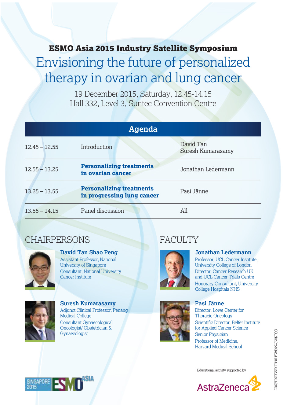 Envisioning the future of personalized therapy in ovarian and lung cancer
