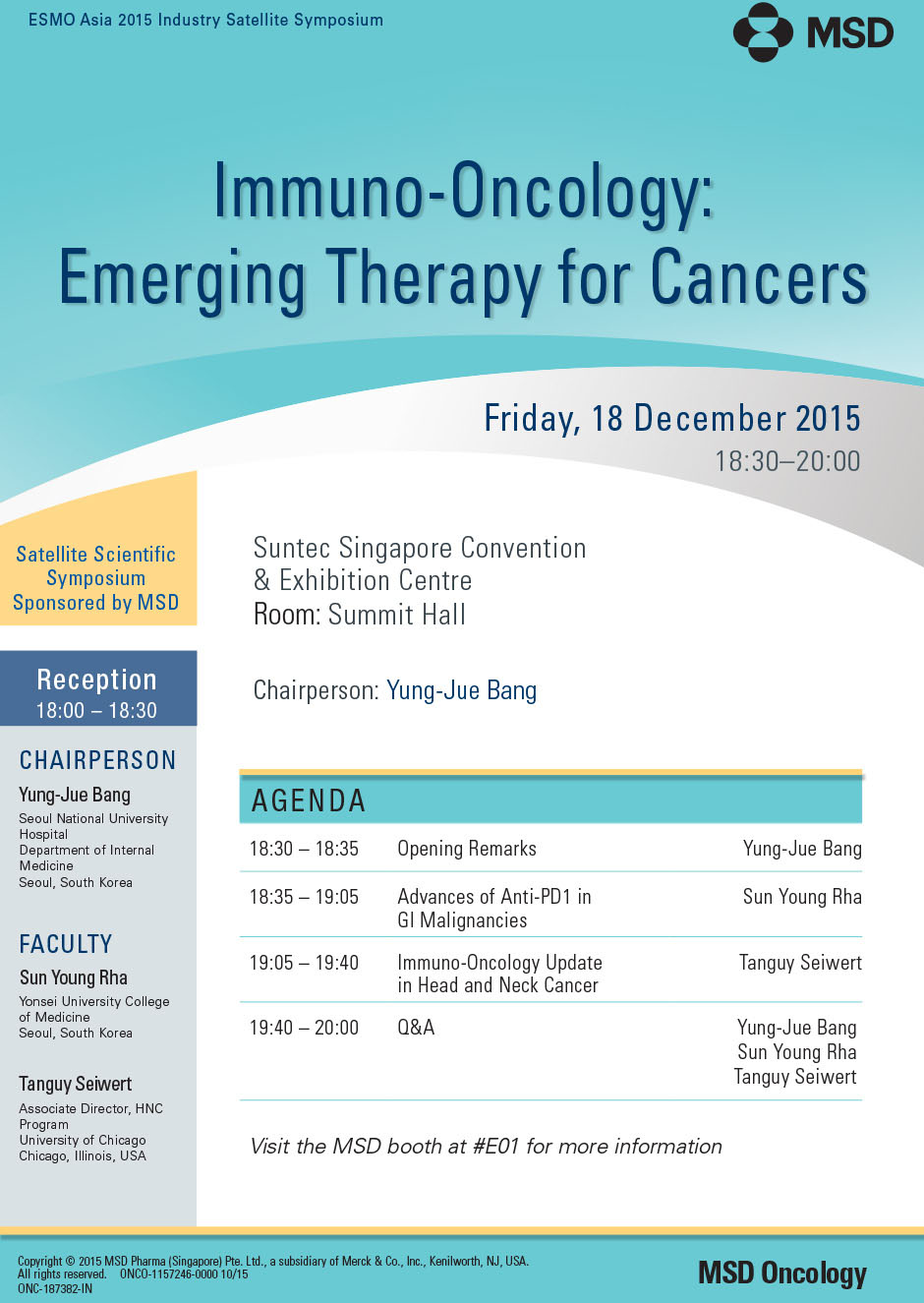 Immuno-Oncology: Emerging Therapy for Cancers