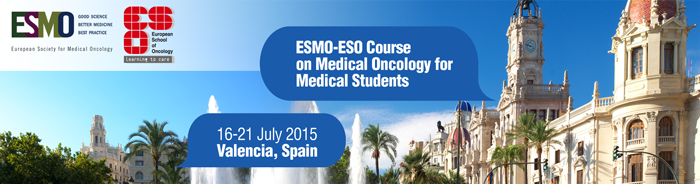 ESMO ESO Medical Oncology Course 2015