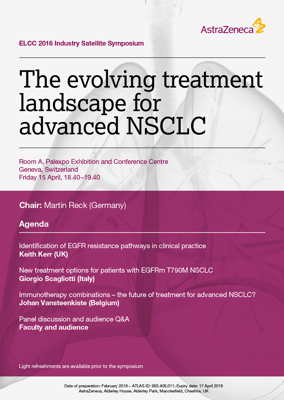 The Evolving Treatment Landscape For Advanced NSCLC
