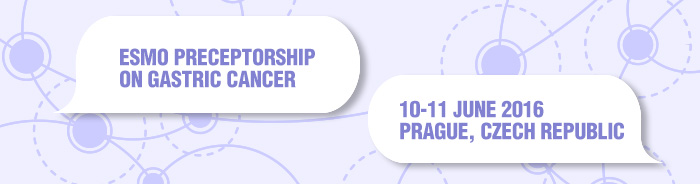 ESMO Preceptorship on Gastric Cancer Prague 2016