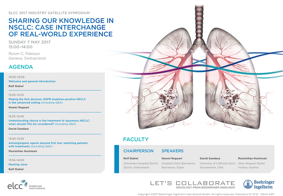 Sharing Our Kknowledge in NSCLC: Case Interchange of Real-World Experience