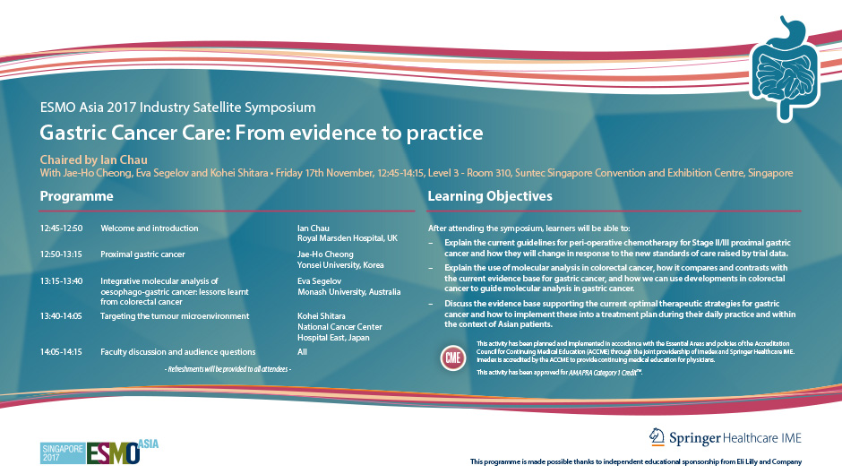 Gastric Cancer Care: From Evidence to Practice