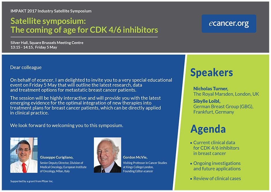 The Coming of Age for CDK 4/6 Inhibitors