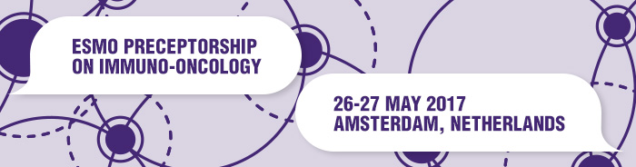 ESMO Preceptorship on Immuno-Oncology Amsterdam 2017