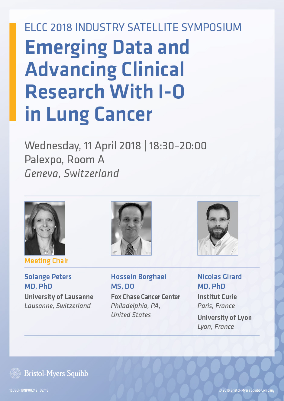 Emerging Data and Advancing Clinical Research With I-O in Lung Cancer