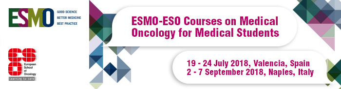 Student Course on Medical Oncology Application 2018 - banner