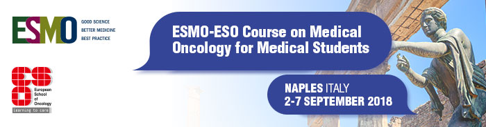 Student Course on Medical Oncology Naples 2018 - banner