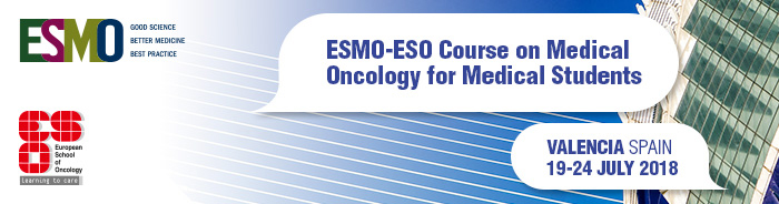 Student Course on Medical Oncology Valencia 2018 - banner