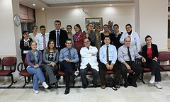 Staff of the Baskent University Department of Oncology, Adana, Turkey