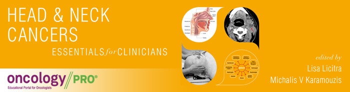 ESMO Essentials for Clinicians Head and Neck Cancers banner