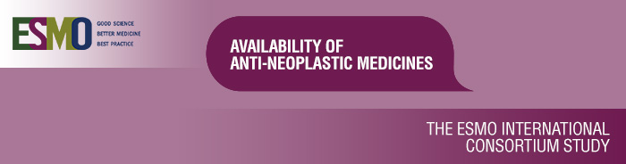 AntiNeoplastics Medicines Availability study International banner