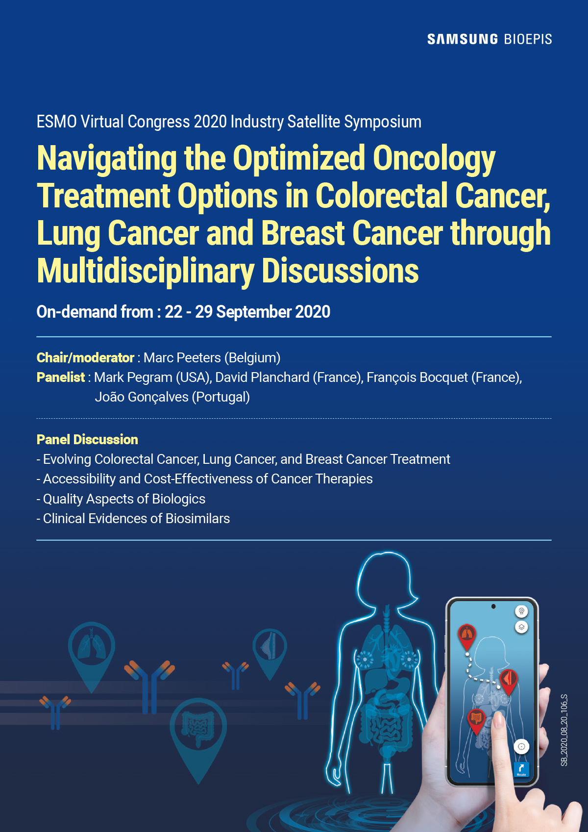 Navigating The Optimized Oncology Treatment Options In Colorectal Cancer Lung Cancer And Breast Cancer Through Multidisciplinary Discussions Esmo