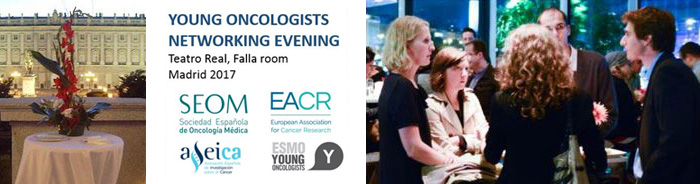 Young Oncologists Networking Evening 2017 banner