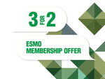 ESMO 3 for 2 membership offer