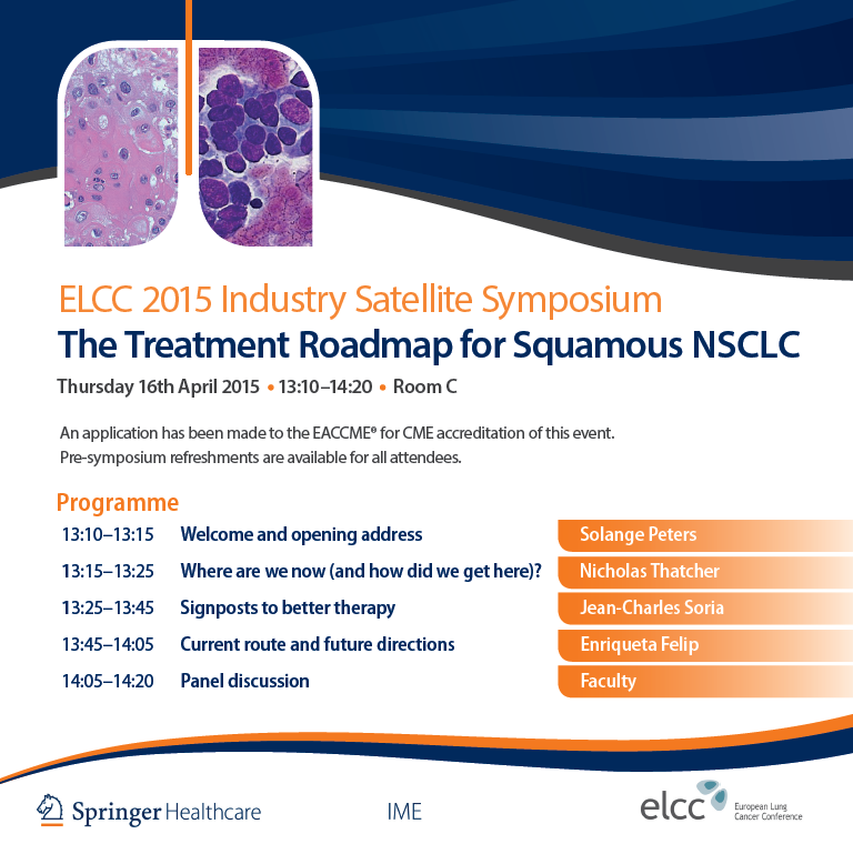 The Treatment Roadmap for Squamous NSCLC