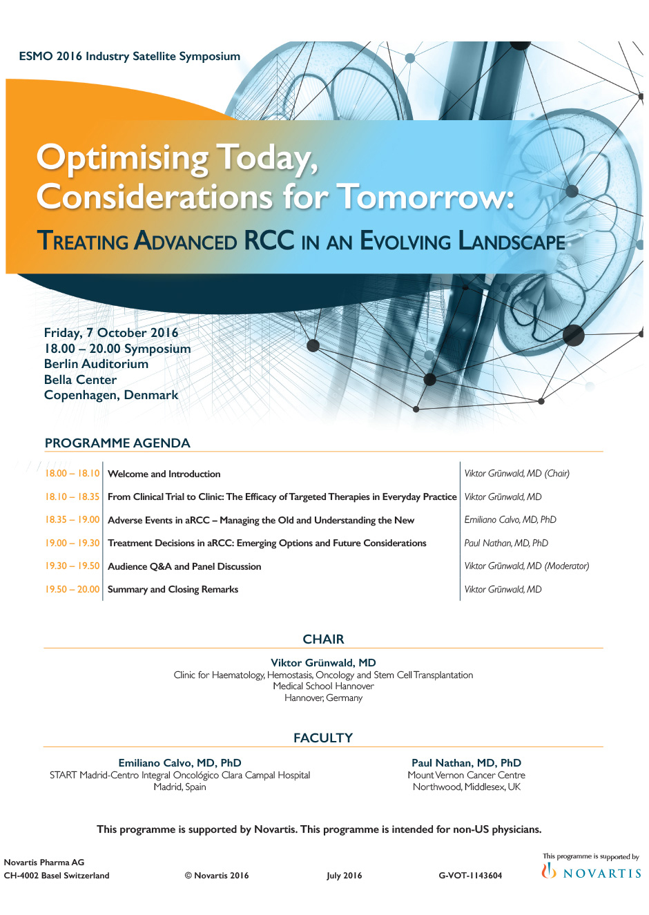 Optimising Today, Considerations for Tomorrow: Treating Advanced RCC in an Evolving Landscape