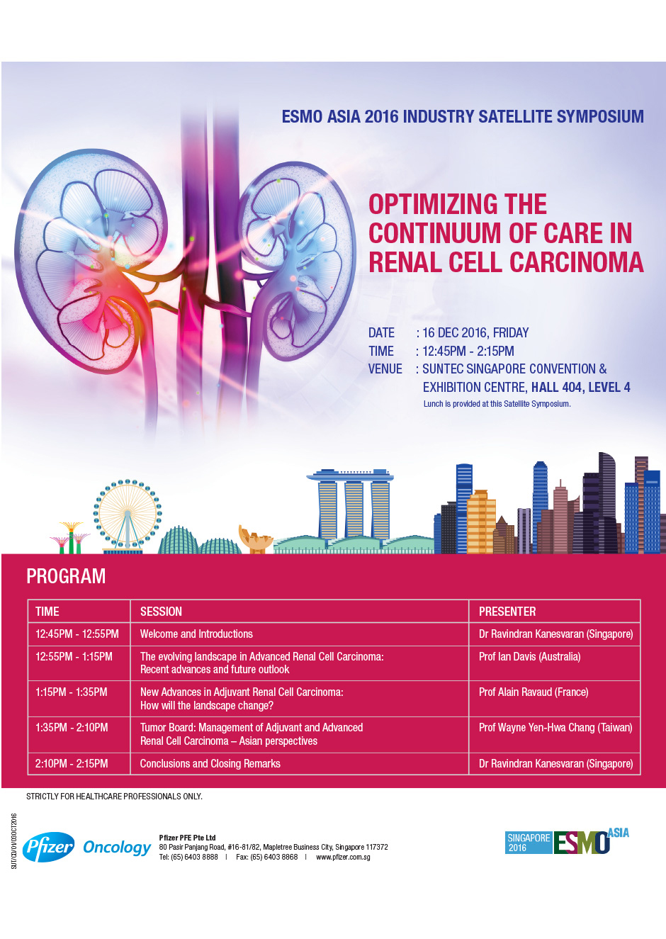 Optimizing the Continuum of Care in Renal Cell Carcinoma