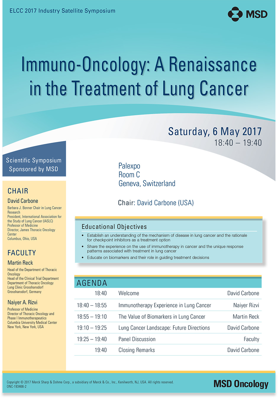 Immuno-Oncology: Renaissance in the Treatment of Lung Cancer