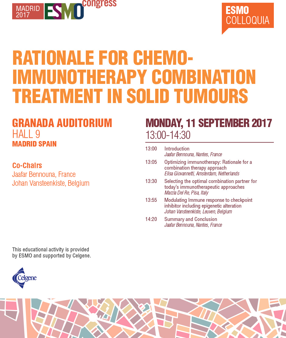 Rationale for Chemo-immunotherapy Combination Treatment in Solid Tumours