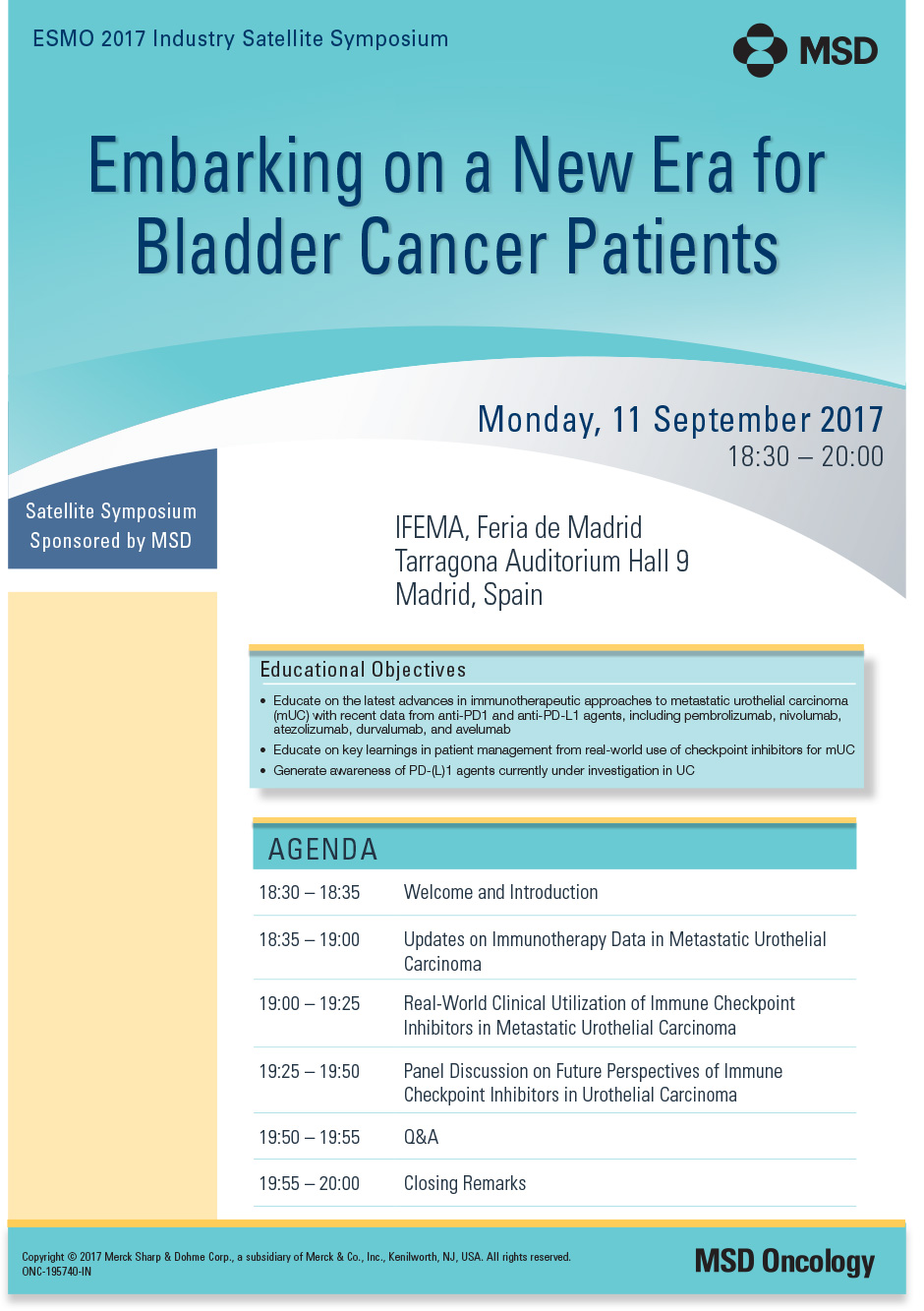 Embarking on a New Era for Bladder Cancer Patients