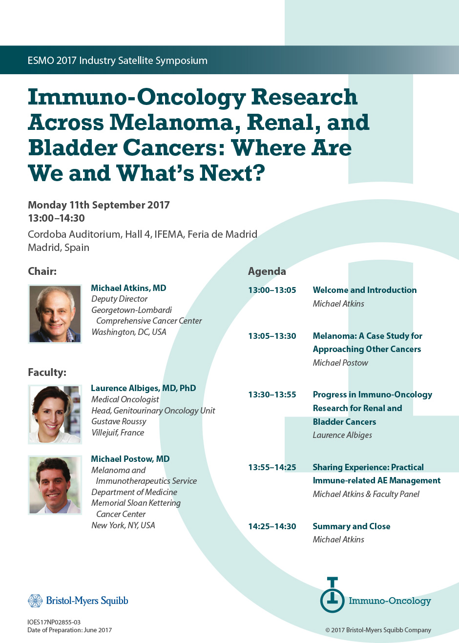 Immuno-Oncology Research Across Melanoma Renal and Bladder Cancers: Where Are and Whats Next