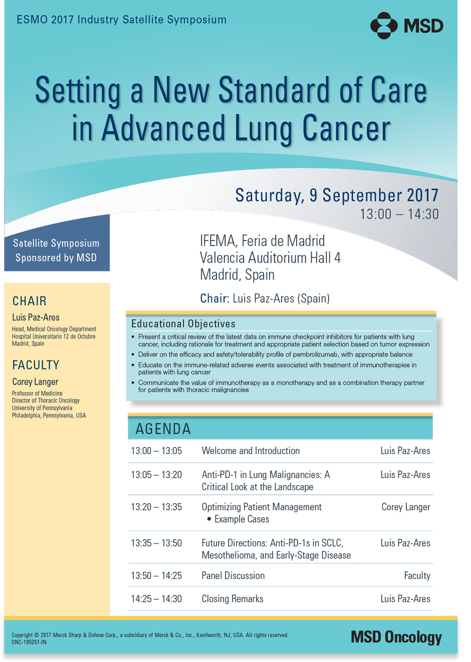 Setting a New Standard of Care in Advanced Lung Cancer