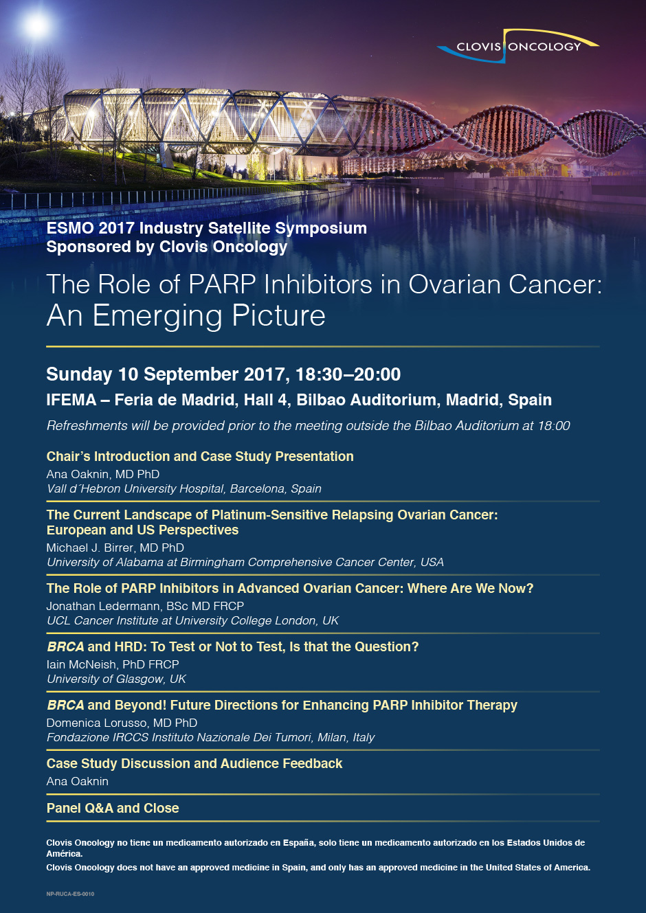 The Role of PARP Inhibitors in Ovarian Cancer An Emerging Picture