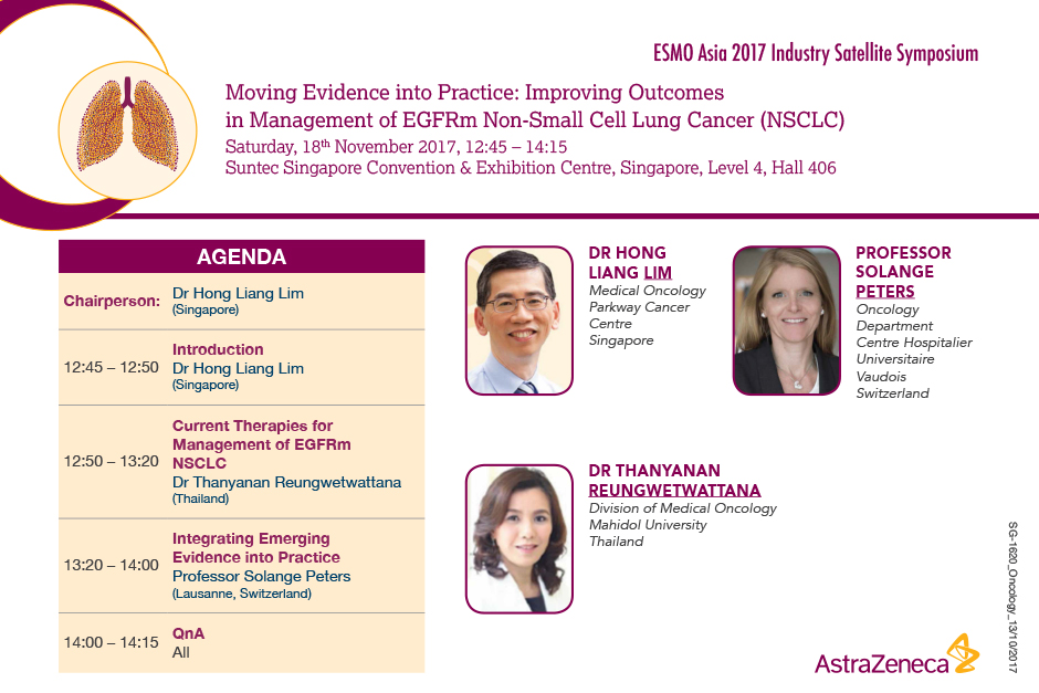 Moving Evidence into Practice Improving Outcomes in Management of EGFRm Non-Small Cell Lung Cancer (NSCLC)