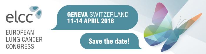 ELCC 2018   European Lung Cancer Congress   Geneva, Switzerland   ESMO
