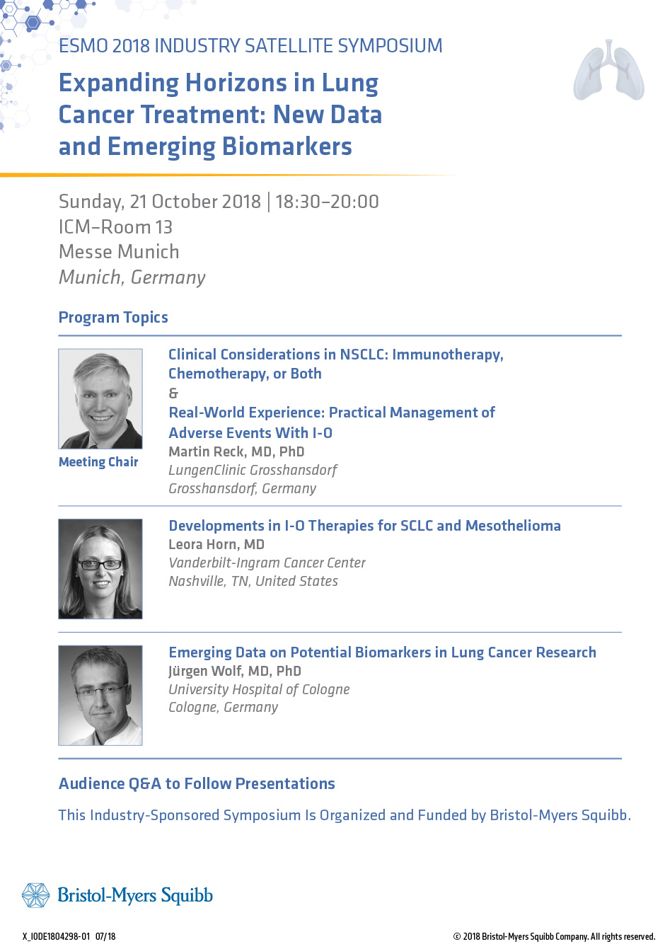 Expanding Horizons in Lung Cancer Treatment: New Data and Emerging Biomarkers