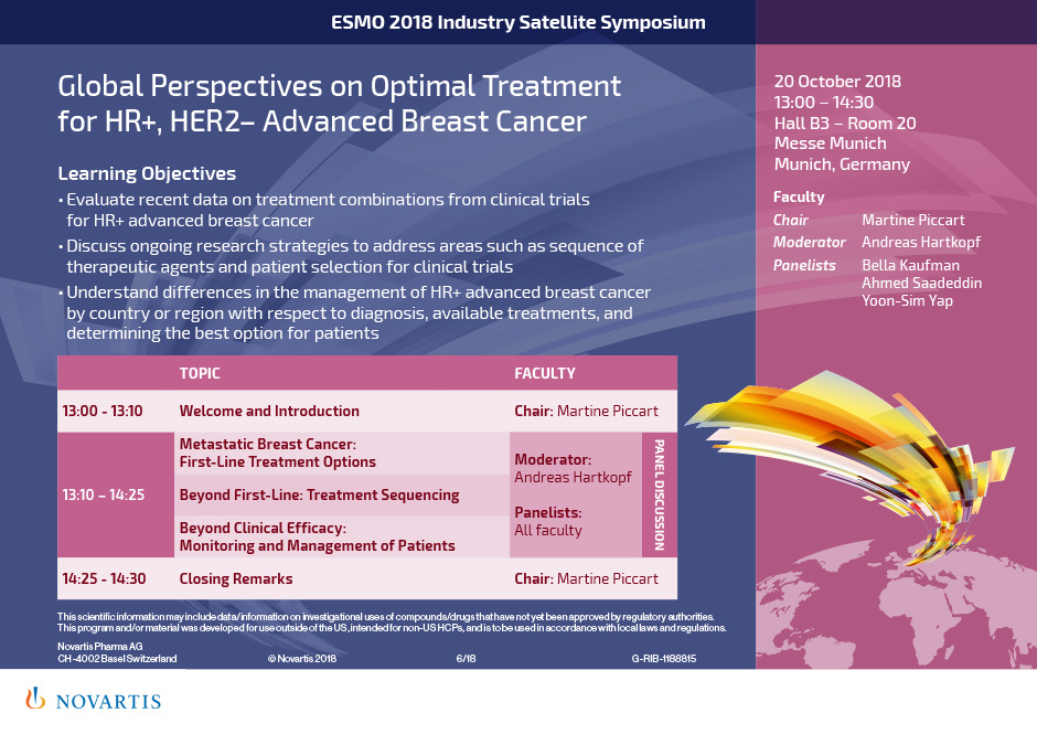 Global Perspectives on Optimal Treatment for HR+, HER2– Advanced Breast Cancer