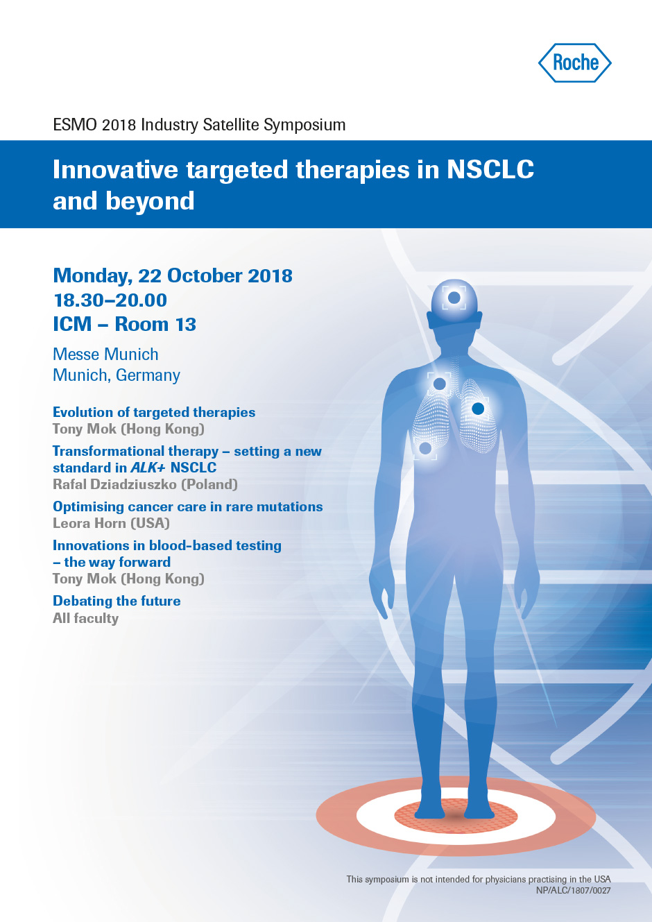 Innovative Targeted Therapies in NSCLC and Beyond