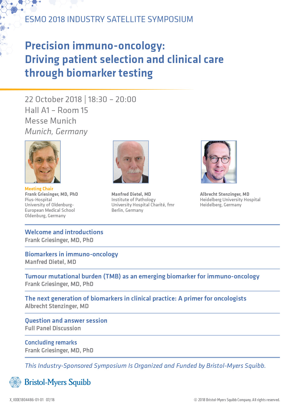 Precision Immuno-Oncology: Driving Patient Selection and Clinical Care Through Biomarker Testing