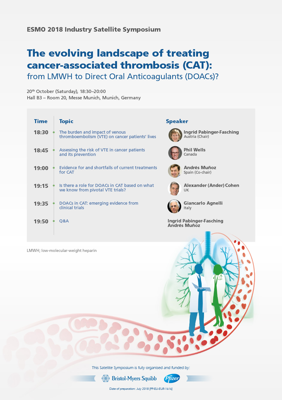 The Evolving Landscape of Treating Cancer-Associated Thrombosis (CAT): From LMWH to Direct Oral Anticoagulants (DOACs)?