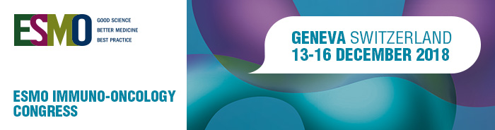 ESMO Immuno-Oncology Congress 2018 banner