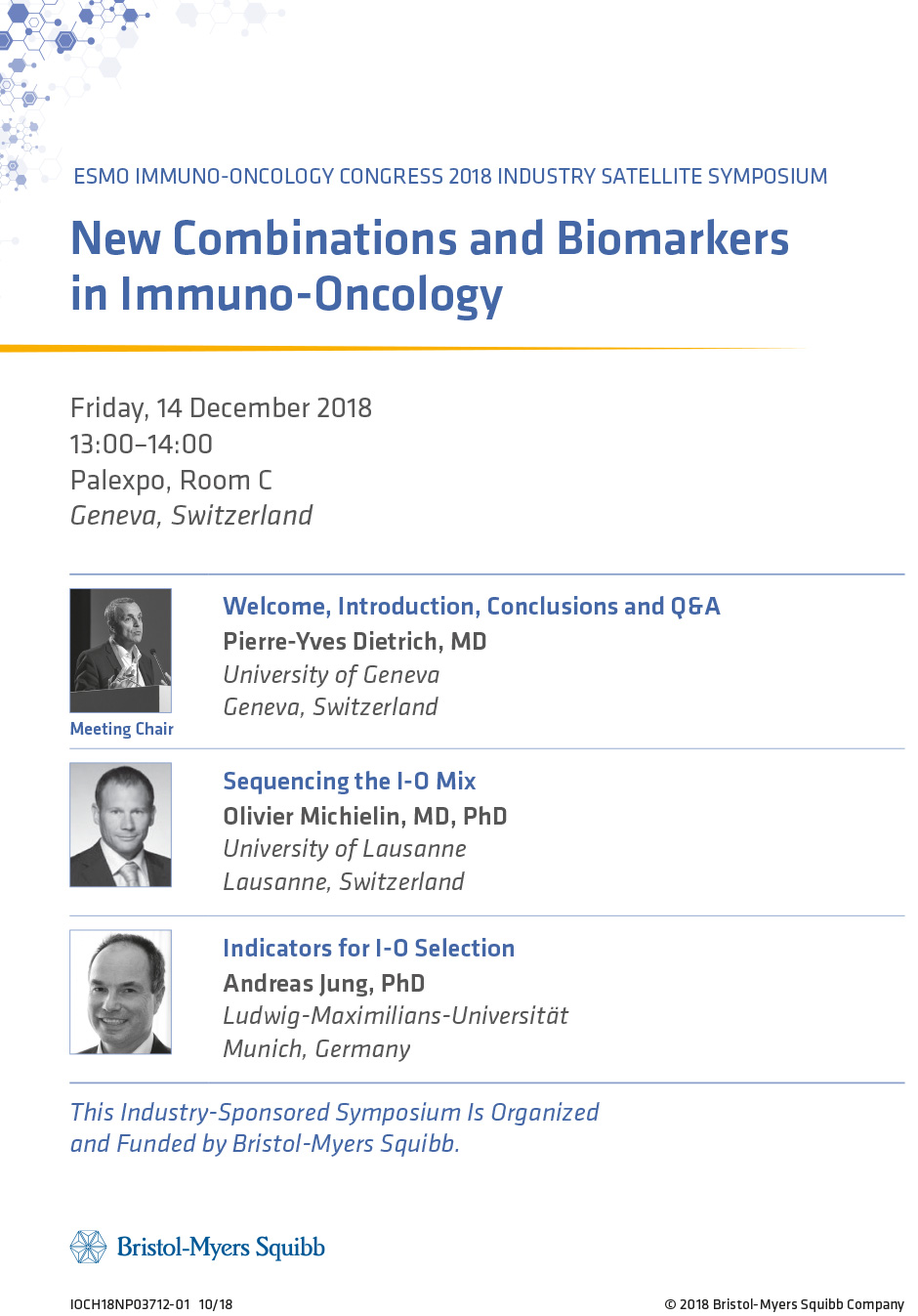 New Combinations and Biomarkers in Immuno-Oncology