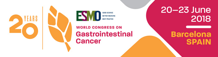 ESMO World GI 2018 Banner