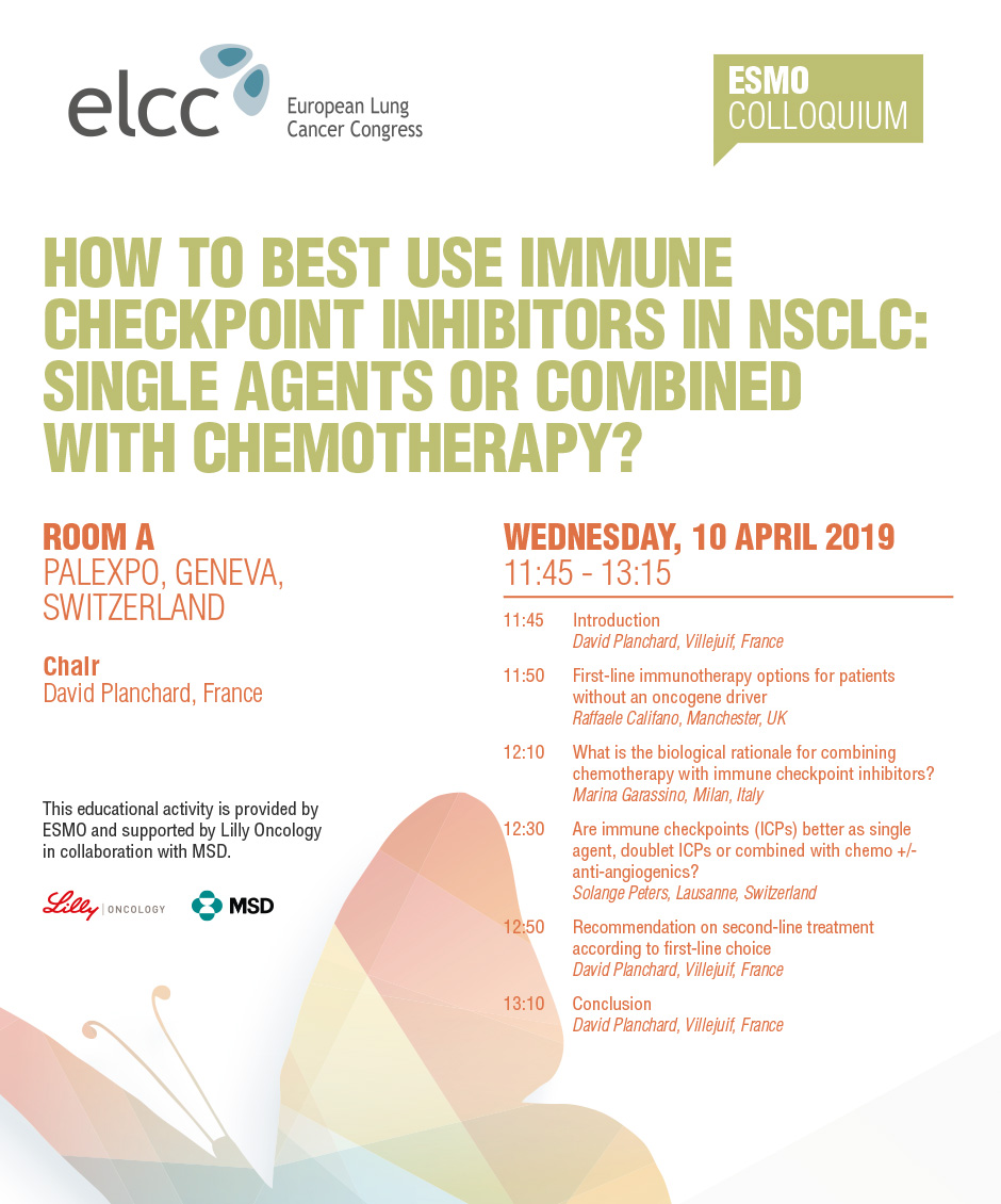 How to Best Use Immune Checkpoint Inhibitors In NSCLC: Single Agents or Combined With Chemotherapy?