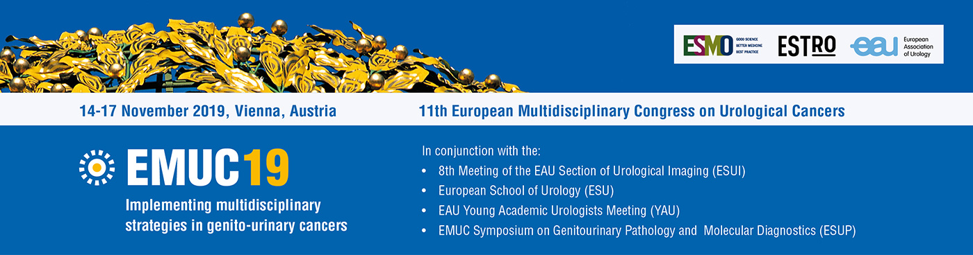 EMUC 2019 | Multidisciplinary congress on Urological Cancers | ESMO