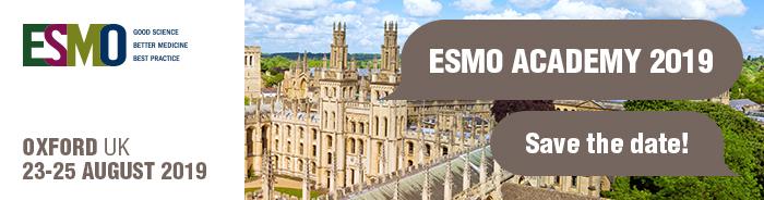 ESMO Academy 2019 | Medical Oncology Education | ESMO
