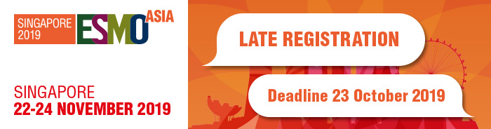 ESMO Asia 2019 Late Registration