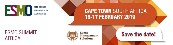 ESMO Summit Africa 2019 | Cape Town, South Africa | Oncology