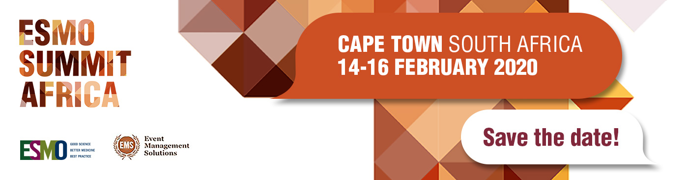 ESMO Summit Africa 2020 | Cape Town, South Africa | Oncology