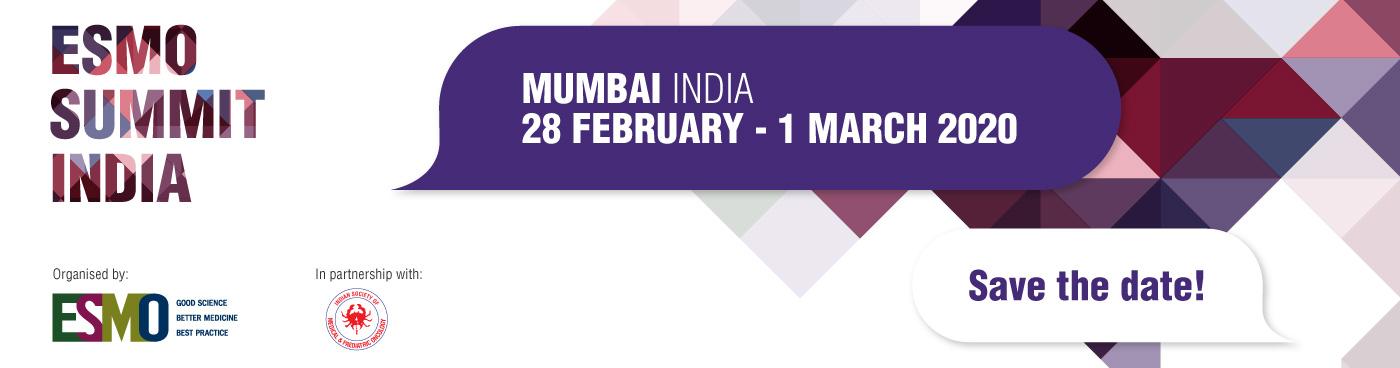 Best Ico 2020.Esmo Summit India 2020 Mumbai India Oncology Esmo