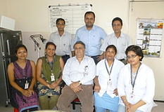 Saroj Gupta Cancer and Research Institute Staff, Kolata, India