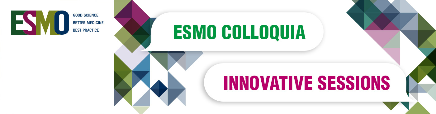 ESMO Colloquia Banner Innovative Sessions